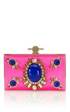 Jason Wu Karlie Box Clutch in Pink