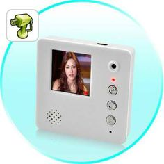 a digital video memo video recorder thingo to leave video messages for your family members on the fridge! Electronics Gadgets, Sticky Notes, Cool Gadgets, Magnets, Cool Stuff, Digital, Finance, Real Estate, Internet
