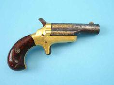 Scarce Gold-Inlaid London Colt Third Model Derringer