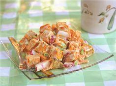 Wasabi Sweet Potato Salad