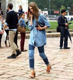 אתם לא מאמינים מה חזר מהניינטיז: ג'ינס עם טלאים
