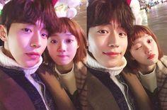 "Rumors have surfaced that Nam Joo-hyuk and Lee Sung-kyung might be dating, according to local media reports Monday. ""Nam Joo-hyuk and Lee Sung-kyung have been dating since they finished filming 'Weightlifting Fairy Kim Bok-joo,'"" several reports said. Weightlifting Kim Bok Joo, Weightlifting Fairy, Cha Eun Woo, Drama Korea, Korean Drama, Korean Celebrities, Korean Actors, Celebs, Weighlifting Fairy Kim Bok Joo"