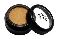 Zuii Organic Flora Eyeshadow Sunflower.  Zuii's unique Talc Free Certified Organic Floral Blend of rose, chamomile and jasmine powders enriched with natural vitamins and minerals delivers both a subtle and sophisticated colour palette to soothe and nourish your eyelids. No longer are lovers of shimmery eye shadows only for the young, now because of Zuii unique formulation there is no limitation.