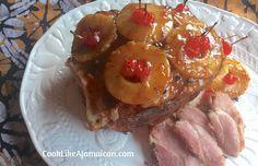 Jamaican Glazed Baked Ham | Cook Like A Jamaican