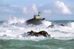 Phare de Tévennec, Finistère, France