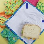 reusable sandwich wraps with message