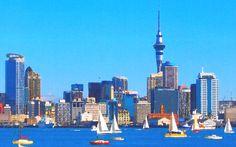 Auckland City Harbour and CBD