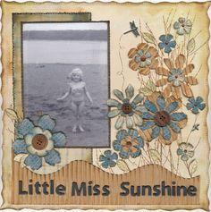 Little Miss Sunshine - Scrapbook.com