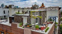 This Rare NYC Rooftop Cottage Is For Sale | Apartment Therapy