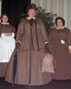 There are many highlights to attending the Ladies and Gentlemen of the 1860's  conferences but everyone always looks forward to Saturday m...
