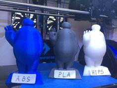 今月、20日に全国ロードショーのディズニー映画【ベイマックス】を3Dプリンターでプリント致しました。 フィラメントは左からABS、PLA、HIPS樹脂を使用しております。 造形時間:約5時間(1個) 物語:優しすぎるロボットと最愛の兄を失った少年ヒロの絆を描いた感動のアドベンチャー