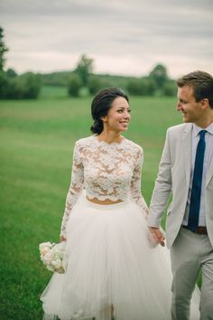This esteemed surgeon and former Miss Wisconsin threw the most stunning rustic wedding! Don't miss a second: http://www.stylemepretty.com/wisconsin-weddings/door-county/2015/09/18/miss-wisconsin-says-i-do-in-a-breathtaking-rustic-chic-wedding/ | Photography: Erin Jean Photography - http://erinjeanphoto.com/