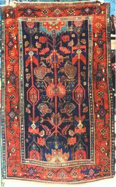 Bahktiari Rugs: Semi-Antique Chahar Mahal/Bakhtiari