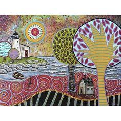 Karla Gerard - Lighthouse - 1000pc jigsaw puzzle