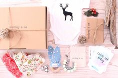 Baby Gift Box - Christmas - Audrey & Me  - 1