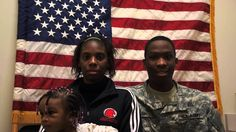 PVT Feagin shares his Army Story with his family at the Valparaiso Recruiting Center in Indiana before heading to his first duty assignment as a motor transport operator (MOS in Kansas.