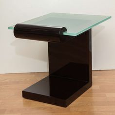 Superb Art Deco Side Table | From a unique collection of antique and modern end tables at http://www.1stdibs.com/furniture/tables/end-tables/