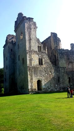 Old Wardour Castle.