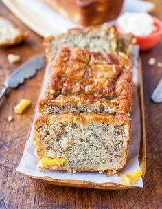 Pineapple Coconut Oil Banana Bread - This bread makes me think of spring, warmer weather, and of being on a tropical vacation. Like all my banana bread recipes, it comes together with a whisk and just one bowl. No mixer, no creaming ingredients, nothing fussy.