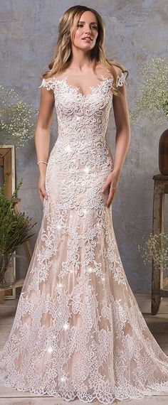 d458533a3e5c Marvelous Tulle Bateau Neckline Natural Waistline Mermaid Wedding Dress  With Lace Appliques Pizzo Da Sposa