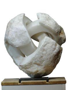 (Escher's ) Trefoil ( Alabaster)