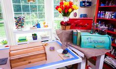 Home & Family - How-To - Country Bread Boxes with Ken Wingard | Home & Family   Materials: Unfinished wood bread boxes- $20-$35 Paint- $5.00 Carbon paper- $2.00 Paint markers- $2.00 Sand paper- $1.00