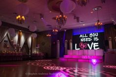 This Bat Mitzvah celebration took place in the ballroom at Temple Avodah in Oceanside, NY. Learn more at www.mitzvahmarket.com.