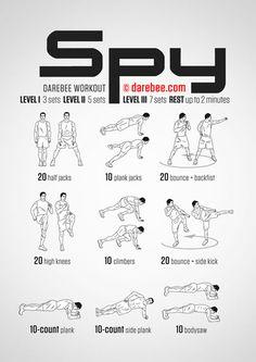 SPY workout