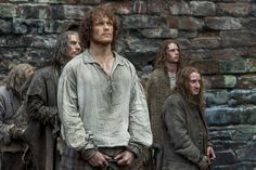 """Outlander """"Wentworth Prison"""" (1x15) promotional picture wallpaper possibly with a city scene and a special forces in The Claire & Jamie Fraser Club"""