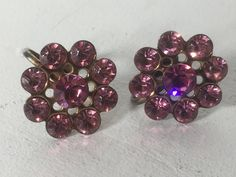 A personal favorite from my Etsy shop https://www.etsy.com/listing/544846875/antique-crystal-rhinestone-pink-flower