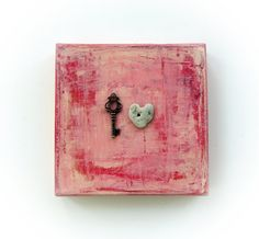 Unique Love Gift for him  the key to my heart  by MedBeachStones, $35.00  #forhim