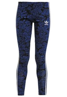 9f080cd6 adidas Originals BLUE FLORAL - Leggings - multicolor for with free delivery  at Zalando