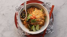 New Recipes, Cooking Recipes, Simple Recipes, Mi Goreng Instant Noodles, Malaysian Curry, Savory Cupcakes, Kentucky Fried, Fried Shallots, Fried Cabbage
