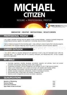 Resume Professional Skills Meet Your Next Employer With An Eyecatching And Professionally .