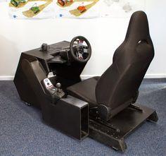Racing Cockpit Simulator, Pencil Warriors on ArtStation at https://www.artstation.com/artwork/3DODE
