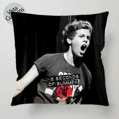 New Hot Luke hemmings 5 SOS pillow case, cover ( 1 or 2 Side Print With Size 16, 18, 20, 26, 30, 36 inch )