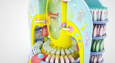Special POP Project for Johnson's Baby by Mathias D'Andrea Modena, via Behance