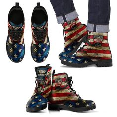 Trump Strong Leather Boots