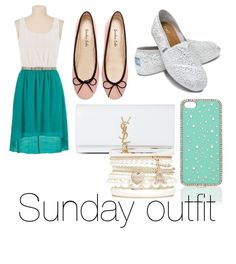 Sunday church outfit for the summer !