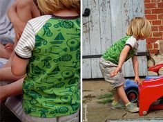 handmade by Spunkynelda! Fashion for kids made of organic cotton #lillestoff Do more of what you like <3