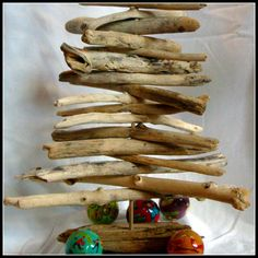 Driftwood Christmas Tree by PotomacCreekDesigns on Etsy