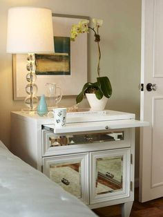 Amazing Mirrored-Furniture Ideas --> http://www.hgtv.com/decorating/spectacular-mirror-furniture-designs/pictures/page-2.html?soc=pinterest