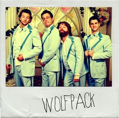 Welcome to Rob's #wolfpack. A little affirmation never hurt nobody. xx, bride.