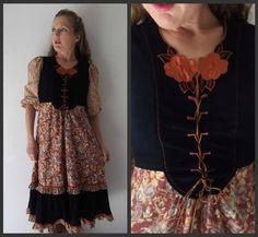 70s Gunne Sax dress  Renaissance dress  by ResurrectingVintage, $75.00