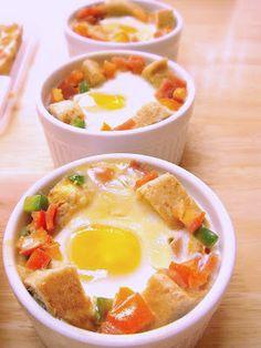 Food Wanderings in Asia: Eggs in a Basket My Way