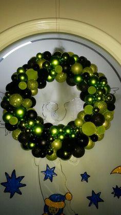 Weihnachts Kranz grün
