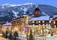 Whistler, BC Ski Resort