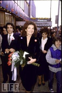 Jackie for Ted in 1980.
