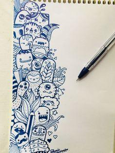 Doodle drawings, easy drawings, tattoo drawings, drawing sketches, doodle d Cute Doodle Art, Doodle Art Designs, Doodle Art Drawing, Cool Art Drawings, Pencil Art Drawings, Art Drawings Sketches, Easy Drawings, Tattoo Drawings, Doodle Doodle