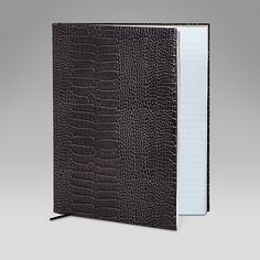 Manuscript book - Smythson